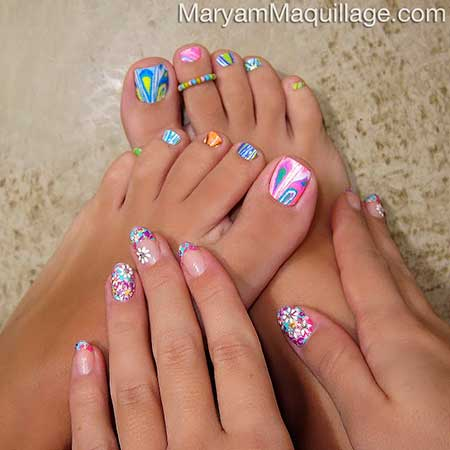 Cool Toe Nail Designs For Summer Nail Art Designs 2017
