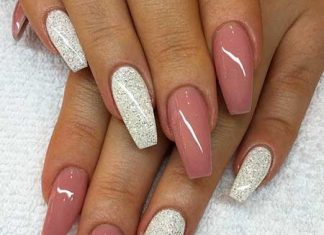 19 Simple Acrylic Nail Designs 2017