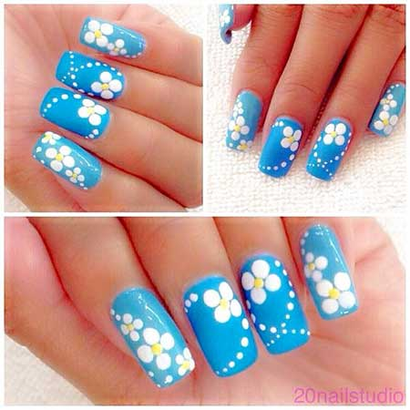 cute  easy nail designs for spring  nail art designs 2017