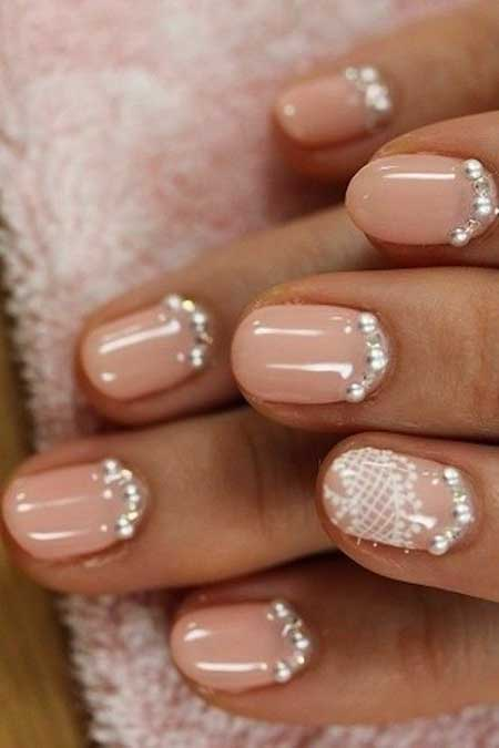 Gorgeous Wedding Nail Art Ideas - 10