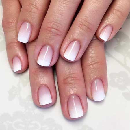 Ombre French Tip Nails