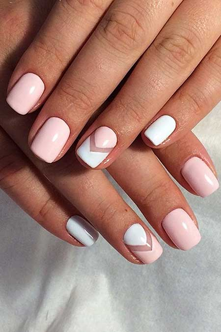 Light pink nail designs 2017 11 pink and white nails prinsesfo Choice Image