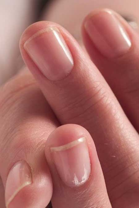 Short Natural Manicured Nails