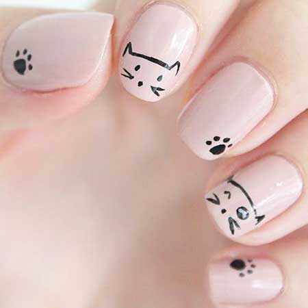 15 Cute Kids Nail Designs