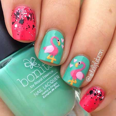 Kids Nail Designs - 15 - 15 Cute Kids Nail Designs