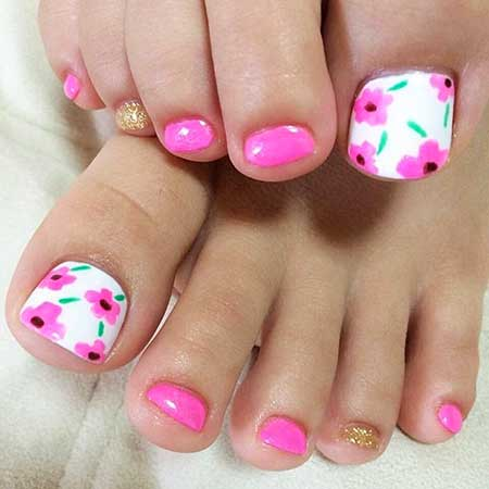 18 easy fun summer nail designs easy fun nail designs 16 prinsesfo Images