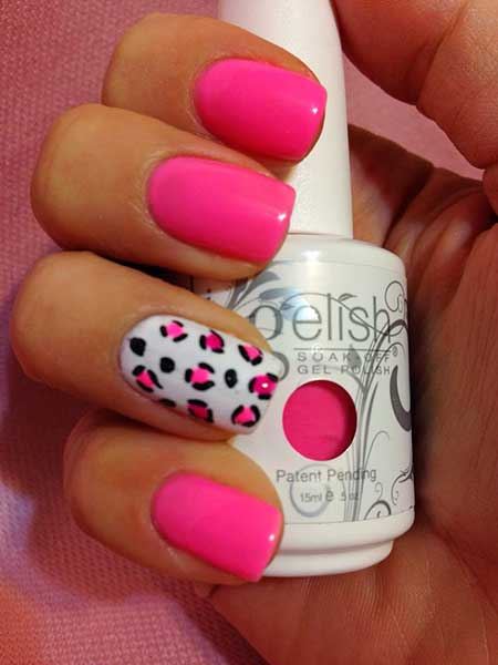 Gelish Make You Blink Pink