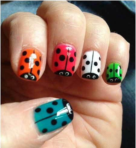 Nail Art Animal Kids Designs
