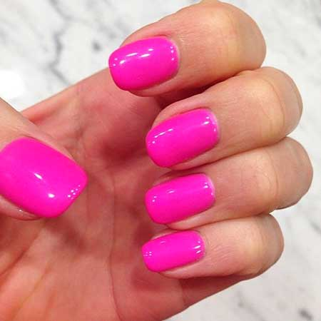 Bubble Gum Gel Nail Polish