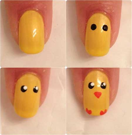 Cute Easter Nail Art Designs