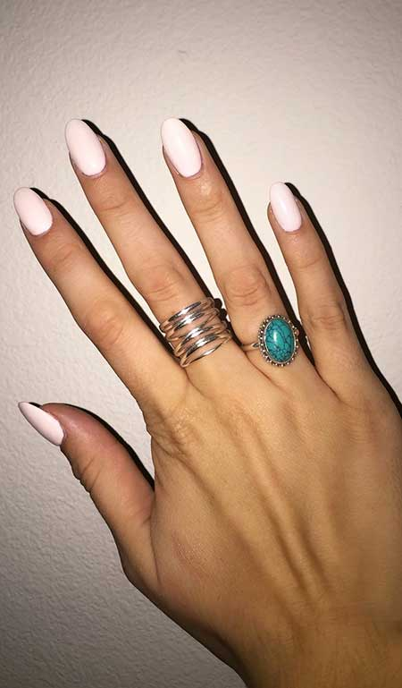 30-Light Pink Nail Designs 2017