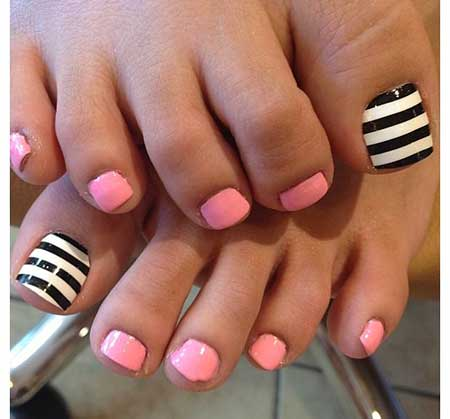 Fun Easy Toenail Designs