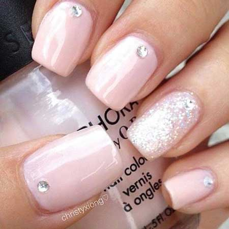 4-Pink-Nail-Designs-with-Diamonds-2017-2017041243 - 4-Pink-Nail-Designs-with-Diamonds-2017-2017041243 - Nail Art Designs