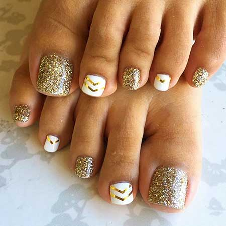 Cool Spring Nail Colors 2017 - Cool Toe Nail Designs For Summer - Nail Art Designs 2017