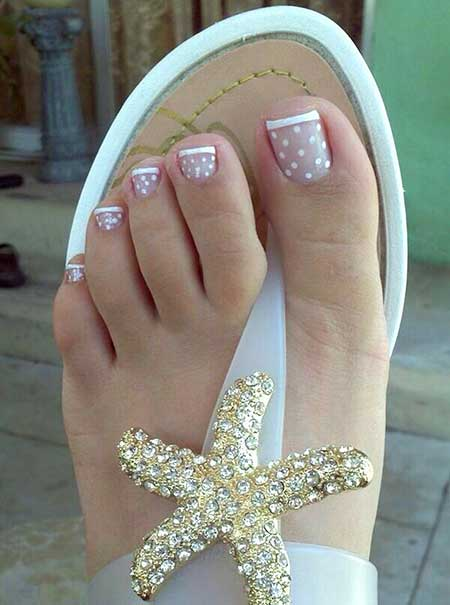 Simple Toenail Designs