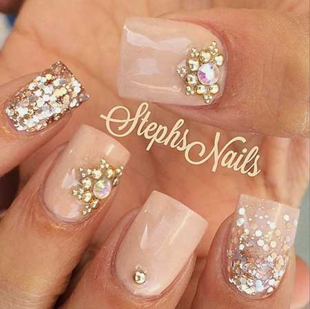 Nail Designs with Diamonds