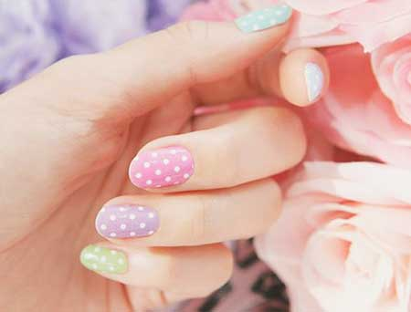Nail Art Light Colors