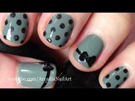 11 easy nail designs for beginners short nails 9 nail designs for beginners short nails prinsesfo Image collections