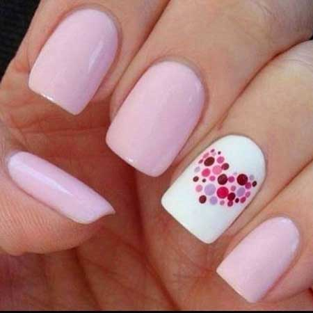 9-Easy-Easy-Pretty-Nail-Designs-2017041171 - 9-Easy-Easy-Pretty-Nail-Designs-2017041171 - Nail Art Designs 2017