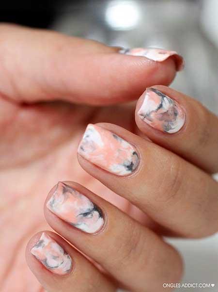 Marble Nail Art