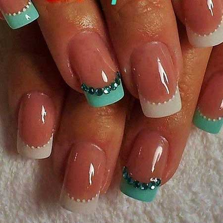 Ail French Manicure Pretty Nail, Frenching French Manicure S, Acrylicclassic