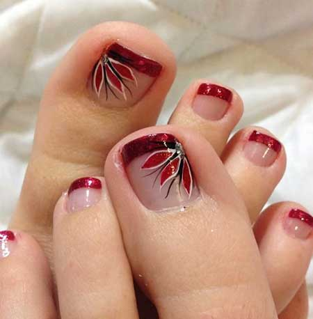 Nail Art Designs On Toes Hireability