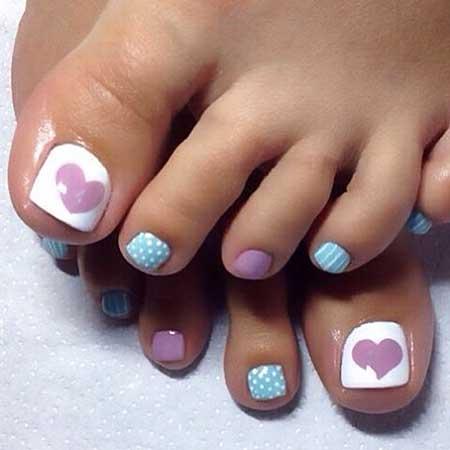 Toe Nail Toe, Pedicures, Art, Toe, Toenail