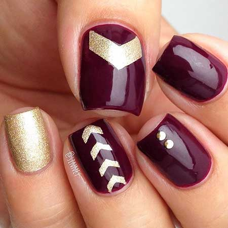 Nail, Christmas Art, Holidaymanicures, Gold, Holiday, Christmas, Idea, S