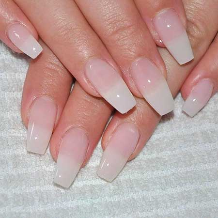 Wedding Nude Nail, French Manicure, Beautiful, Acrylic Natural, Nude, Happy