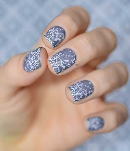 3 Snowflake Design On Nails 2017051292 Nail Art Designs 2017