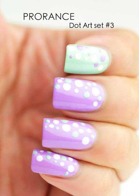 Polka Dots, Tiful Nail, Dots, Dot Nail, Art, Dot, Polka, Idea, Beauty