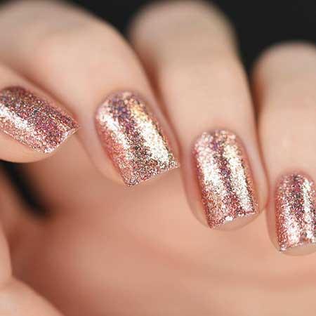 Glitter Nail, Polish, Glitter, Nail Polish, Sparklesparkly China Glaze, Swatch,