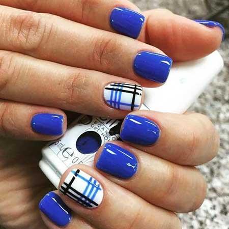 Blue, Blue polish, Nail Polish, Nail Color, Essie, Color, Silver, Style