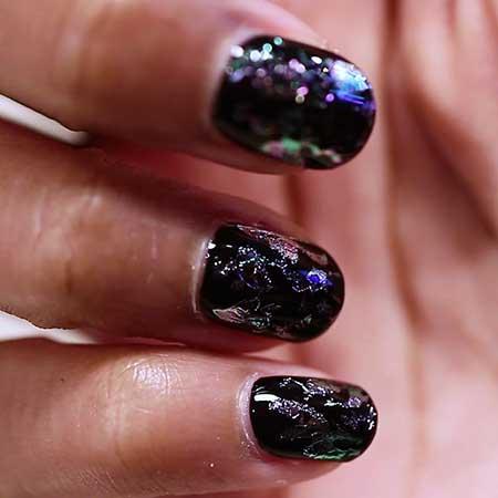 Polish, Galaxy Glitter, Nail Polish, Galaxies, Glitter Nail, Galaxy, Manicure