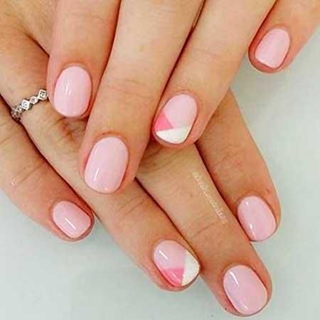 French Manicure, Manicures, Wedding Pink Frenchshort