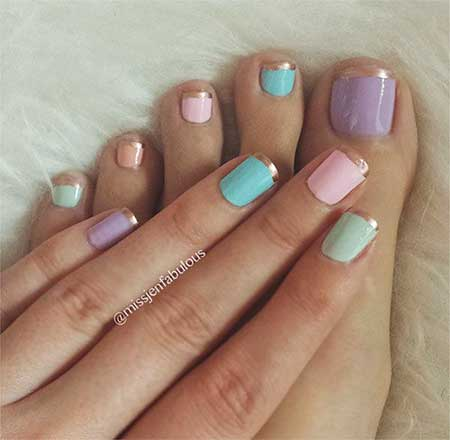 French Manicure, Manicures, Pretty Nail, French, French Gold