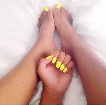 Yellow, Summer Art, Toe Nail, Neon, Manicures, Coffin, Toe