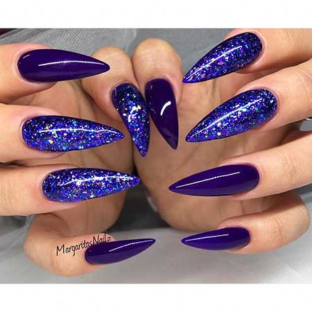 Stilettostilettos, Glitter, Art, Purple, Stiletto, Idea, S