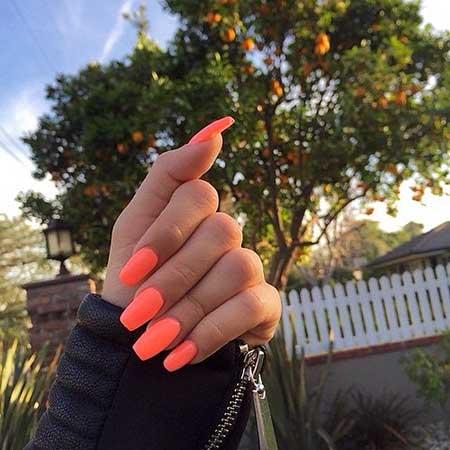 Manicures, Summer Pink, Beautiful, Polish, Opi, Long, Orange