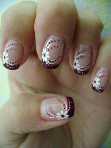 Art, Polka Dots, Cupcake Nail, Valentine Nail, Dots, Polka, Cupcake