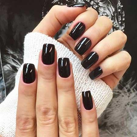 Black Nail, Burgundy Nail, Naile Nail, Art Ideas, Short, Burgundy