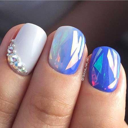 Art, Pastel Nail, Polish, Flower Nail, Manicures, Pastel