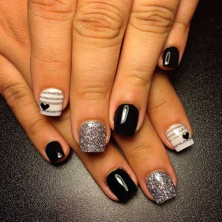 Nail, Artle Nail, Silver Nail, Black Nail, Dark Nail, Dark, Silver