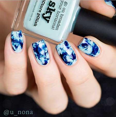 Art, Blue, Polish, Winter Snowflake Snowflake, Water