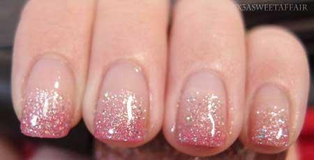 Glitter, Polish, Pink, Pink Glitter Nail, Christmas Sparkle