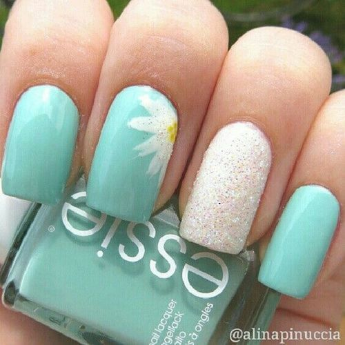 cute summer nail trend - Cute Summer Nail Trend - Nail Art Designs 2017