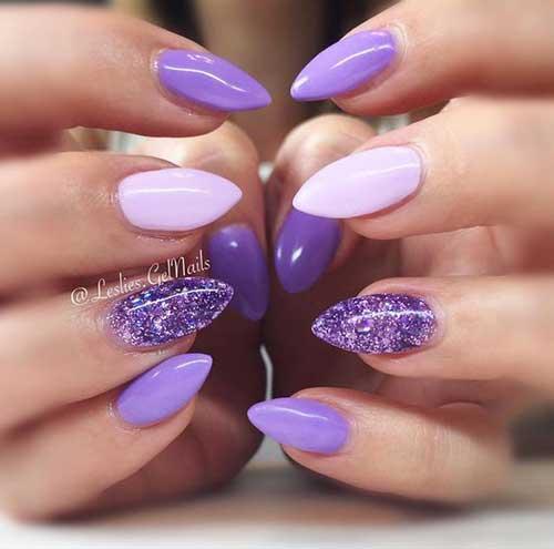 Glittered Nail Designs-7