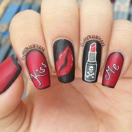 Multi Color Nail Designs-9