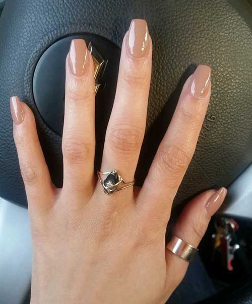 Nude Colored Nail Designs-9
