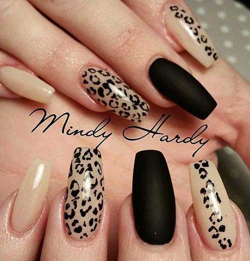 40 Classy Black Nail Art Designs For Hot Women: Black Nail Design